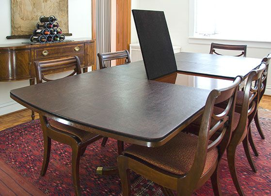 Table Pads Proffer Maximum Protection To Table Top Custom Dining