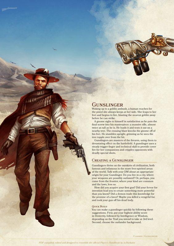 Gunslinger Class by Ujio21