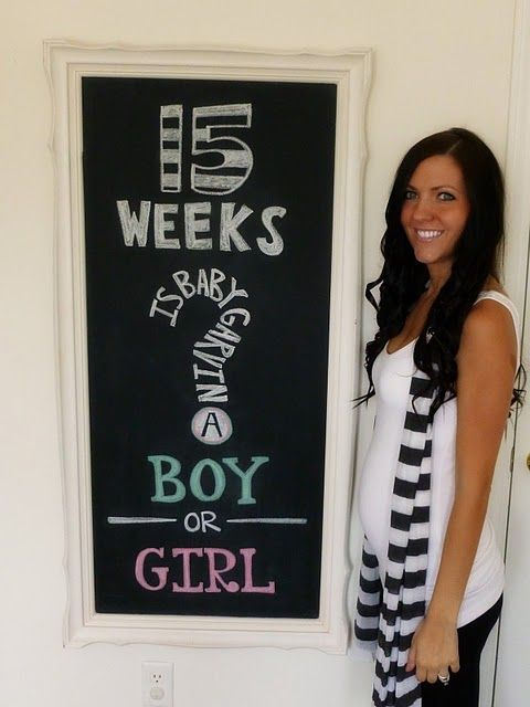 pregnancy: Pregnancy Blog, Pregnancy Photos, Picture Idea, Cute Ideas, Chalkboard Idea, Photo Idea, 15 Week, Baby Stuff