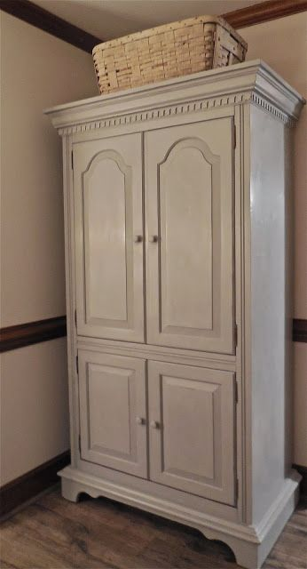 Armoire makeover Armoires and Fresh on Pinterest