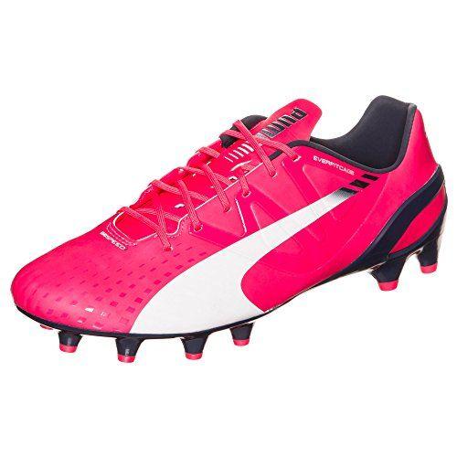 Classico C SG, Chaussures de Football Américain Homme, Noir Black White-High Risk Red, 40.5 EUPuma