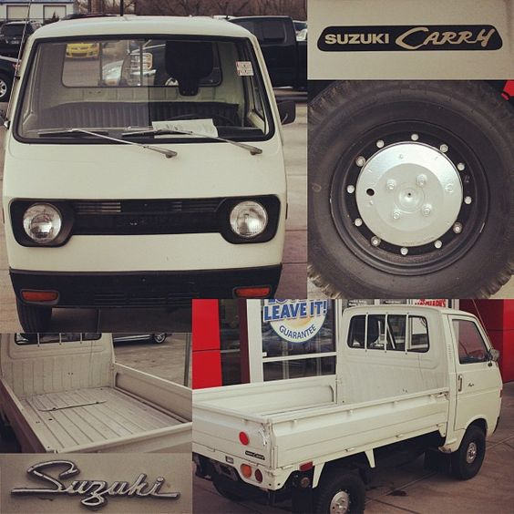 This 1972 #Suzuki Carry MiniTruck is for sale right outside our front door! 1-888-559-4277