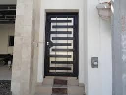 Resultado de imagen para puerta de herreria minimalista for Puerta herreria minimalista