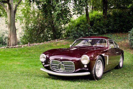 luckyjones: archaictires: 1955 Maserati A6G/54 Berlinetta Zagato I love Zagato bodied coupes….