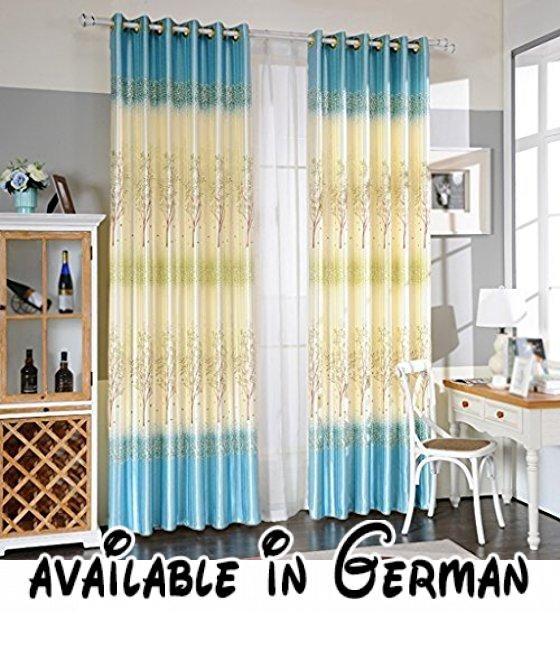 Met Love Drucken Voll Schatten Boden Vorhänge Schlafzimmer - vorhänge für schlafzimmer