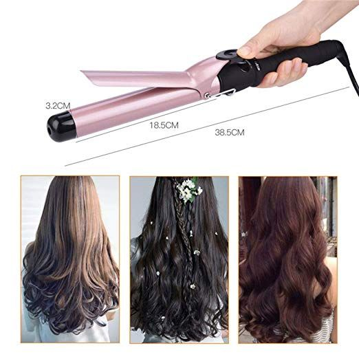 Ceramic Styling Tools 25mm 32mm Hair Curling Iron Digital Hair Curler Roller Quick Curls Hair Waver Magi Curling Iron Hairstyles Hair Curlers Curled Hairstyles