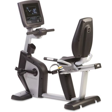 """Centurion 25RX3 Commercial Recumbent Bike Series - Commercial grade recumbent bike that includes 16 preset programs. Maximum user weight 400 lbs. Includes 15"""" HD LCD TV Display. http://www.power-systems.com/p-5062-centurion-25rx3-commercial-recumbent-bike-series.aspx"""
