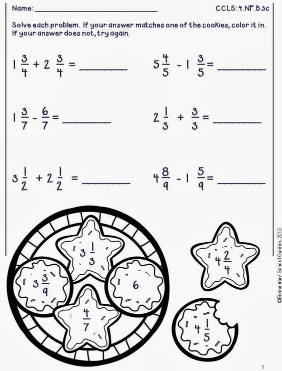 math worksheet : free adding  subtracting fractions worksheets in the preview  : Adding And Subtracting Fractions Worksheets 4th Grade