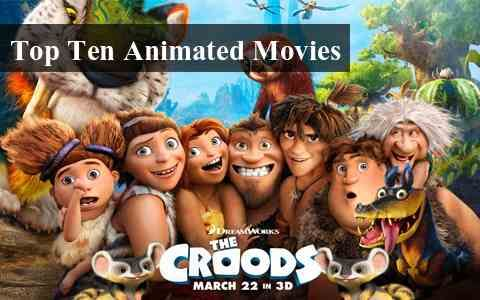 Top 10 #Animated #Movies 2013