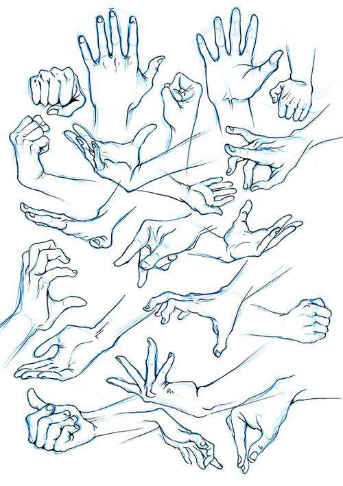male hands ref by  miyuli
