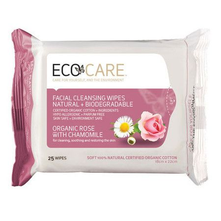 Ecocare Rose Cleansing Wipes