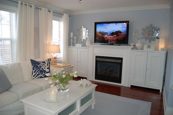 My family room posted by kat on low tide high style for Beacon gray paint