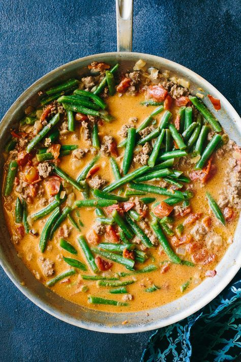 Beef Tinaktak Guam Homestyle Recipe Of Ground Beef Tomatoes Green Beans And Coconut Milk Beef And Green Beans Recipe Soup With Ground Beef Green Beans