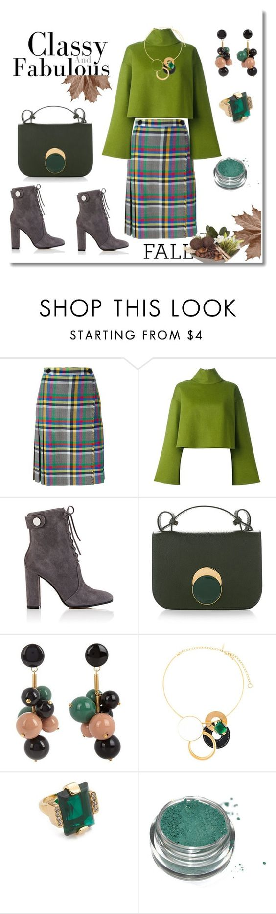"""Fall outfit!"" by faten-m-h ❤ liked on Polyvore featuring Marco de Vincenzo, Bally, Gianvito Rossi and Marni"