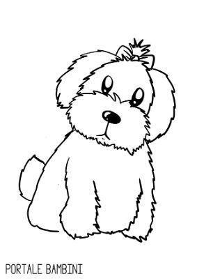 Cani Da Colorare Stampare.Disegni Di Cani Da Colorare Portale Bambini Disegni Di Cane