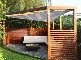 Pergola Aus Larchenholz Pergola Bausatz Gartengestaltung Gartenecke