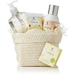 Thymes Nursery Kit - Made in the USA and includes: Diaper balm, Hand cleanser, Nursery Mist, Wash cloth and basket $48.