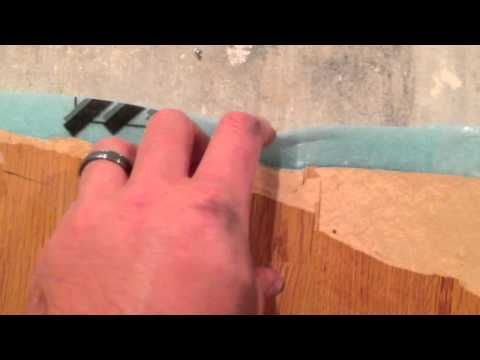 Cheap Laminate Flooring.  I hate cheap laminate flooring.  I will never buy laminate wood flooring again.  My best advice is to spend a little extra and purchase real hard wood floors!  Please share this video and enjoy my other videos too!  Filmed with iPhone 5 camera in 1080P HD.