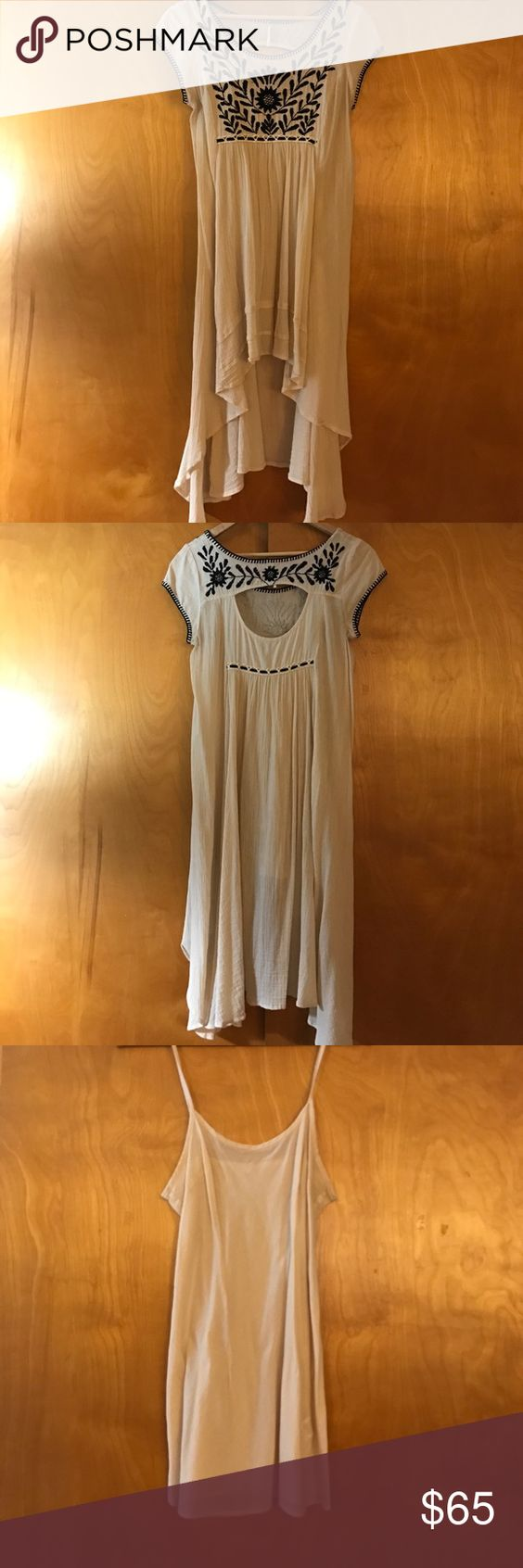 The dress how to see it both ways - Free People Top Dress Adorable Free The People Embroidered Top This Can Also Be