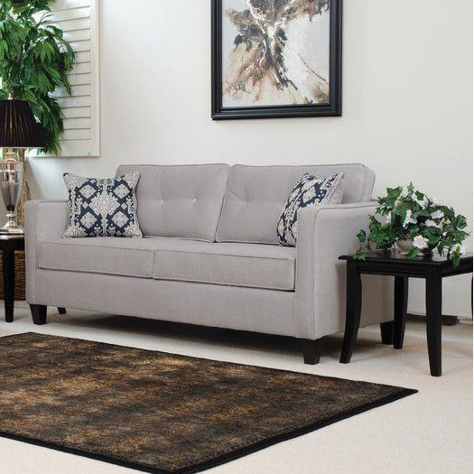 Mercury Row Leda Sofa By Serta Upholstery | AllModern | For The Home |  Pinterest | Upholstery