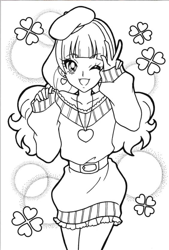coloring book pages of kirara - photo#25