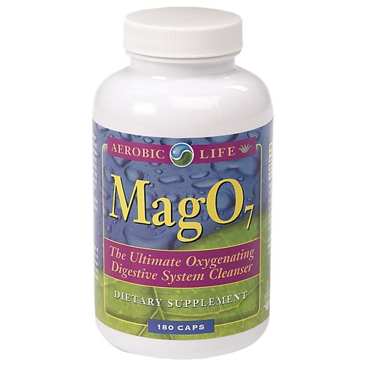 Mag 07 Oxygen Cleanse (180 Capsules) by Aerobic Life at the Vitamin Shoppe Mobile