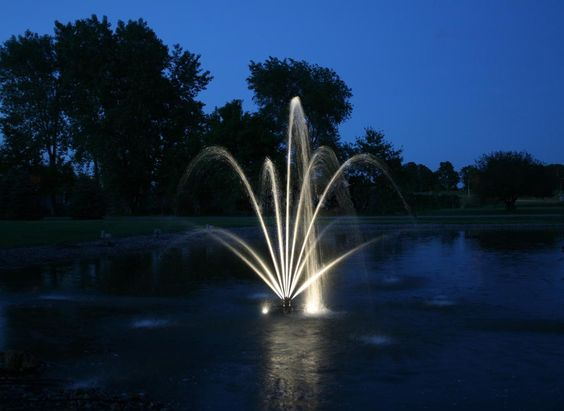 Floating Fountain Lights