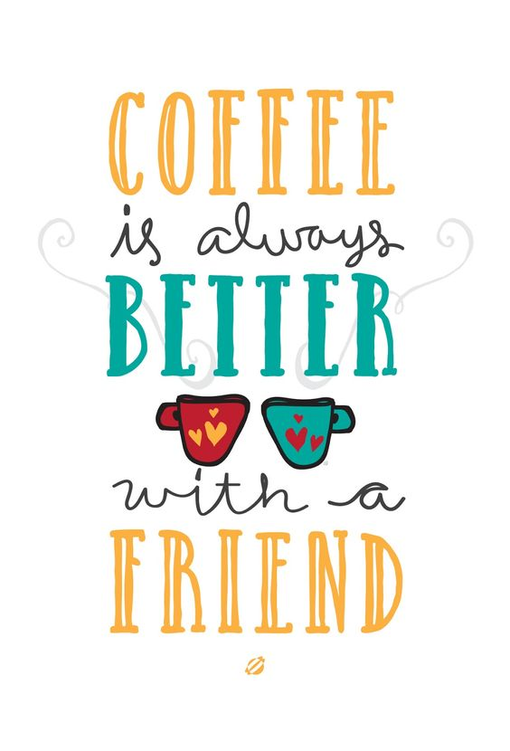 Coffee and Friends on Pinterest