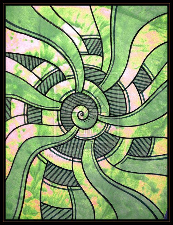 green abstractos by santosam81.deviantart.com on @deviantART