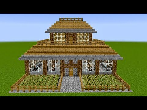 Minecraft How To Build A Survival House Youtube Minecraft Blueprints Minecraft House Tutorials Minecraft Buildings