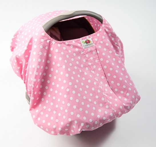 Molly Nursing and Infant Car Seat Coer Coverbuds by Baby Be Mine Maternity.  100%  Cotton