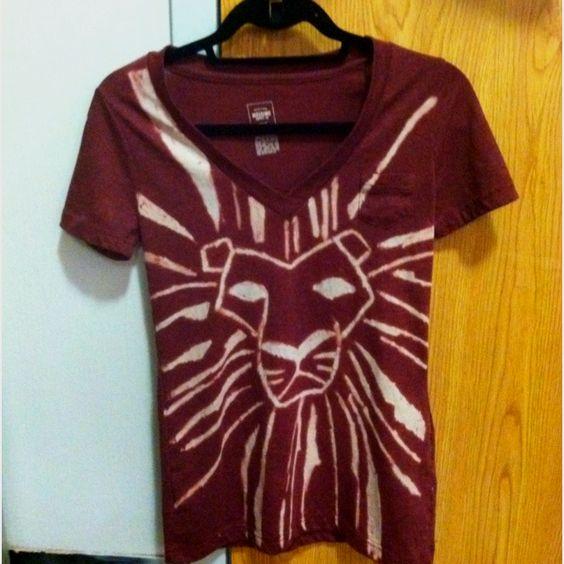 #lionking #bleachdye #bleach #diy