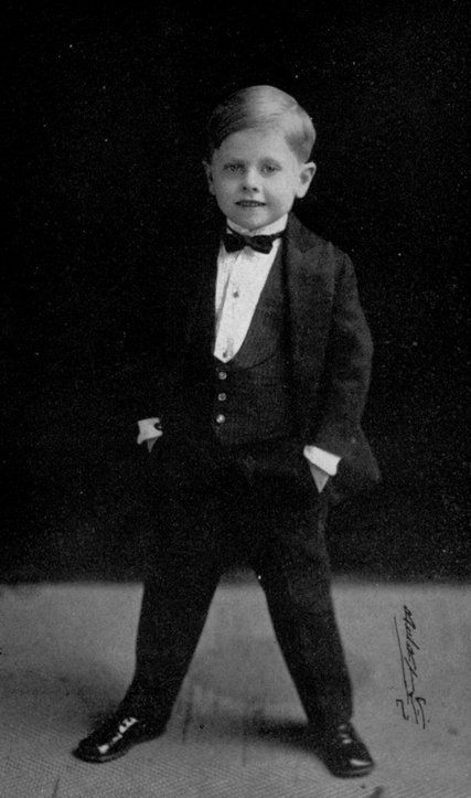 Mickey Rooney, age 2