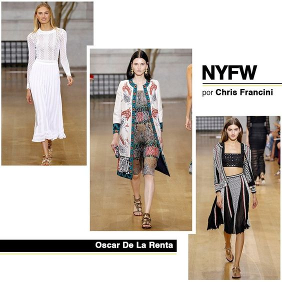 Resumo Semana de Moda de Nova Iorque Primavera/Verão 2017 — CHRIS FRANCINI