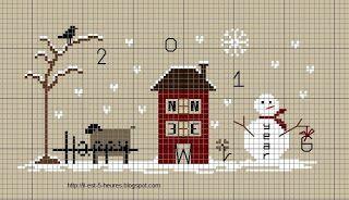 Il est cinq heures.......: cadeau surprise et p'tit free de nouvelle année....