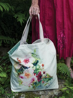 Peony Market Bag | New Arrivals!, Accessories :Beautiful Designs by April Cornell