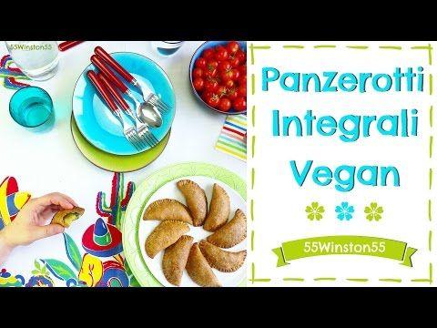 Panzerotti Integrali Vegan Ripieni di Verdure ~ Ricetta Facilissima - YouTube