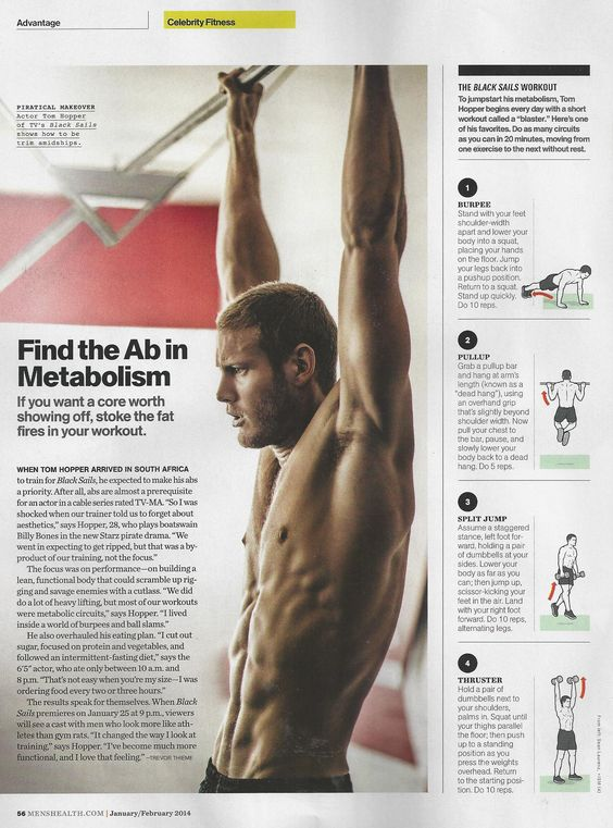 Athlete & Celebrity Training Workouts | Muscle & Fitness