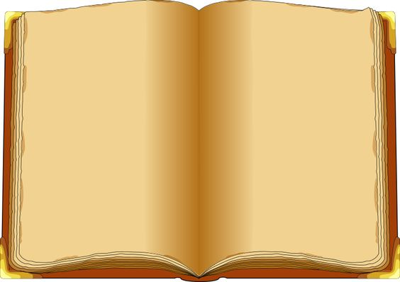 Old Book Blank Pages Blank Book Magical Library Old Books