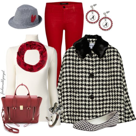"""450 - Roll Tide Roll!!"" by fashionablyroyal on Polyvore"