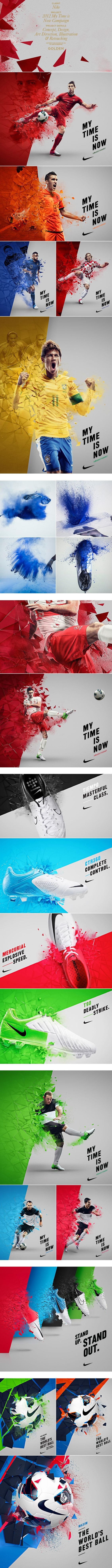 Marketing THROUGH Sports Product: Nike Products People: Europeans Place: Magazine Ads Price: Price of any given Nike Soccer product