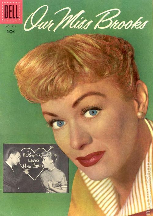 Our Miss Brooks comic. (1956)