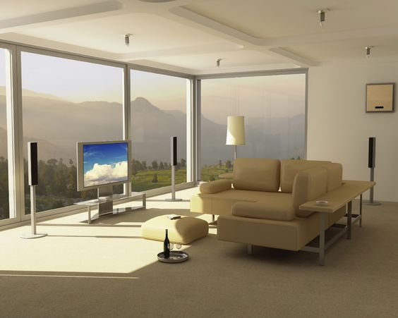 Extraordinary 3d Home Interior Layout With Peaceful Mountain View Using Sophisticated Free Online Room Design Software