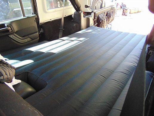 Deepsleep Jeep Jku Air Mattress With Pump Deepsleep Air Mattress Jeep Mattress Design