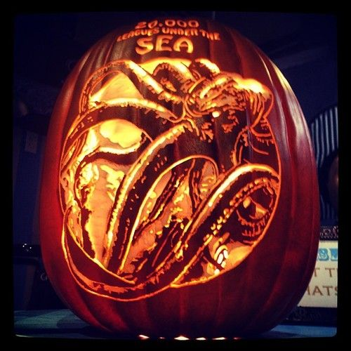 It's time to get kraken!… and carvin'!!!!: