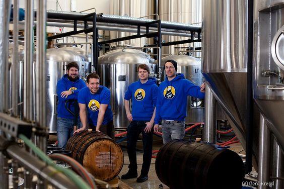 """""""Vier junge Wilde"""" erobern den österreichischen Biermarkt - http://www.logistik-express.com/vier-junge-wilde-erobern-den-oesterreichischen-biermarkt/"""