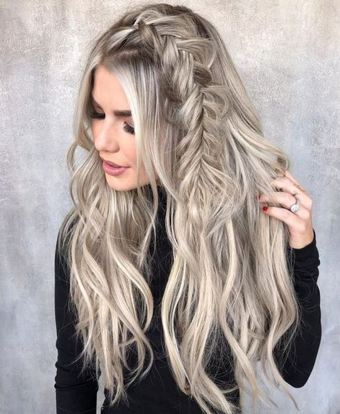 25 Quick Hairstyles For Long Hair Summer 2018 Knowledge Regarding Hairstyles Fashion Easy Hairstyles For Long Hair Braids For Long Hair Long Hair Styles