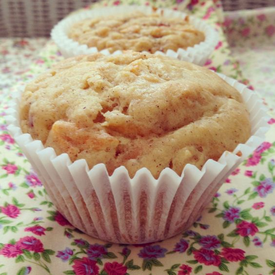 carrot apple & yoghurt muffins Baby led weaning