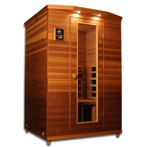 dynamic infrared luxury 2 person ir carbon far infrared sauna infrared sauna saunas and luxury. Black Bedroom Furniture Sets. Home Design Ideas