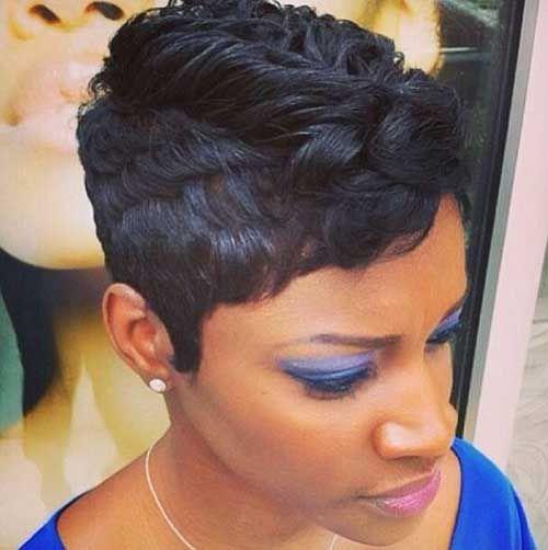 Incredible Short Pixie Black Women And Shorts On Pinterest Short Hairstyles For Black Women Fulllsitofus